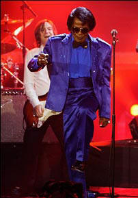James Brown at Alexandra Palace in Nov 2006