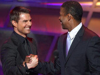 Photo of Miracle, ESPY Awards,  Tom Cruise, Denzel Washington