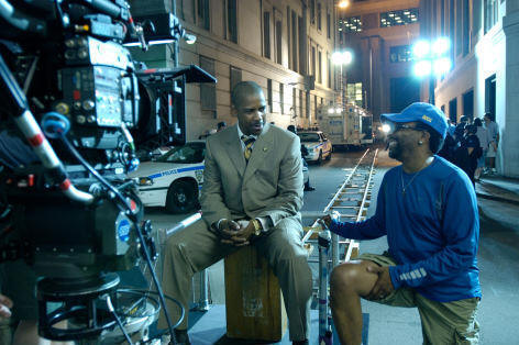 photo of Inside Man,  Denzel Washington, Spike Lee